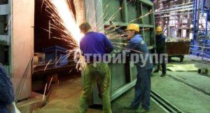 реконструкция газовой нагревательной печи кольцевого типа