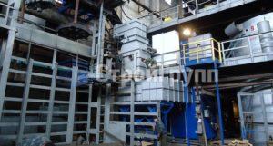 каркас газовой нагревательной печи шахтного типа