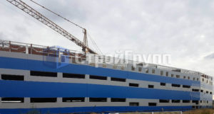 Трехэтажный производственный комплекс
